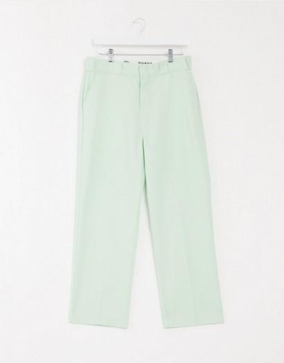 Dickies straight leg work pants mint
