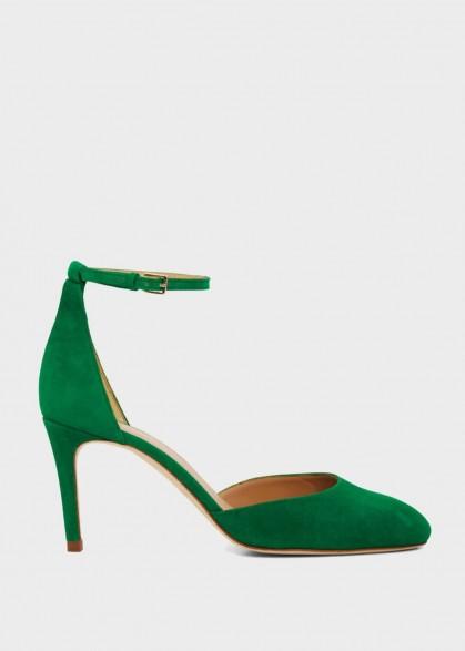 HOBBS ELLIYA COURT GREEN / ankle strap courts