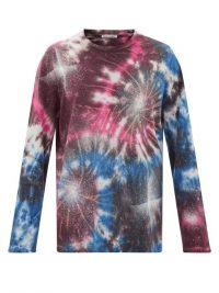 OUR LEGACY Firework-print cotton T-shirt