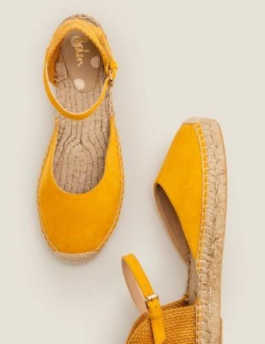 BODEN Fleur Espadrilles Tuscan Sun / summer shoes