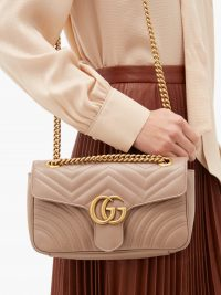 GUCCI GG Marmont small quilted-leather shoulder bag – matches fashion