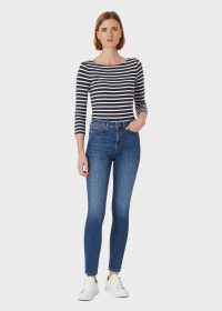 Hobbs GIA SCULPTING JEAN Mid Wash | blue skinnies