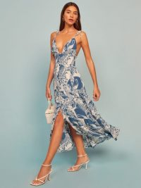 REFORMATION Jaden Dress in Avian / bird print dresses