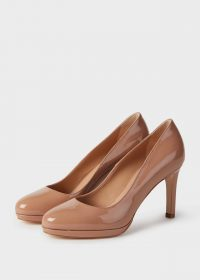 HOBBS JULIETTA COURT TOASTED ALMOND / shiny patent courts