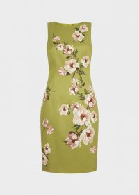 HOBBS MOIRA DRESS SPRING GREEN / mother of the bride shift dresses