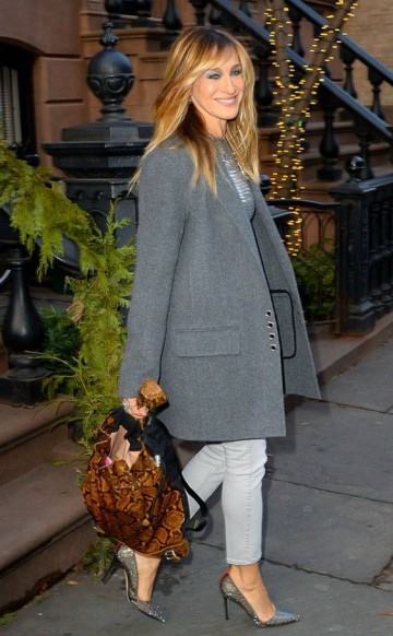 SJP style ~ celebrity outfits