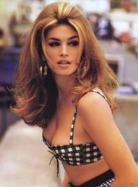 American model Cindy Crawford / 80s models / 90s supermodels