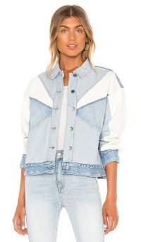 PISTOLA Willow Denim Jacket in Transitions