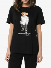 POLO RALPH LAUREN Tux Polo Bear print T-shirt