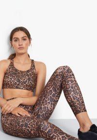 hush Printed Leggings Leopard