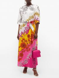 ERDEM Rivera Modotti Wallpaper-print cotton-sateen dress – matches fashion
