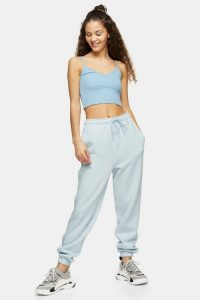 90s Oversized Blue Joggers | casual sports pants