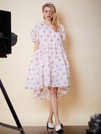 sister jane Love Story Babydoll Dress in Cotton Candy