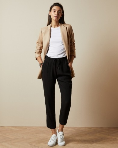 TED BAKER ORYYA Textured joggers