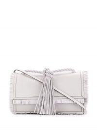 VALENTINO Valentino Garavani fringed tasseled tote bag