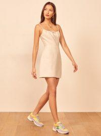 REFORMATION Violaine Dress in Cream ~ effortless summer look