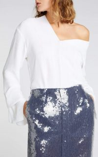 ROLAND MOURET WHINFELL TOP White