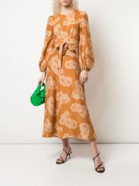 ZIMMERMANN paisley print shirt dress