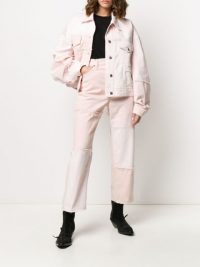 ACNE STUDIOS Recrafted tapered jeans in pink