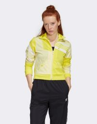 adidas Originals x Danielle Cathari track top in shock yellow