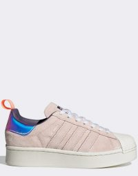 adidas Originals x Girls are Awesome Superstar trainers in navy and pink