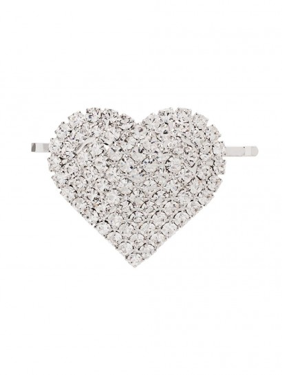 ALESSANDRA RICH crystal heart hair slide ~ hearts ~ accessories