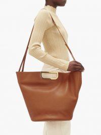 TSATSAS Anouk leather tote bag