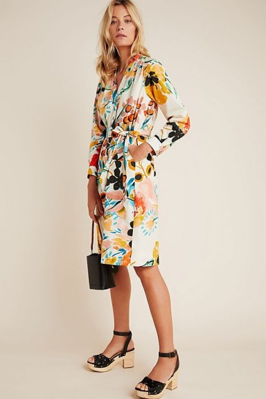Anthropologie Rilke Poplin Shirtdress | warm weather day dresses