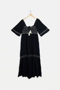 Free People I'm The One Maxi Dress Black