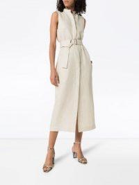 BONDI BORN Utility belted midi dress ~ effortless style summer clothing
