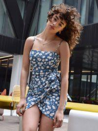 Reformation Canal Dress Tuli – beautiful blue summer dresses