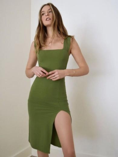 REFORMATION Cassi Dress – Avocado