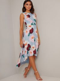 Chi Chi Callista Dress Blue – high low dresses