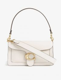 COACH Tabby pebbled-leather shoulder bag B4/CHALK