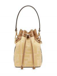 FENDI mini Mon Tresor bucket bag ~ small luxe bags