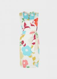 HOBBS LINEN DARIA DRESS / sleeveless floral dresses