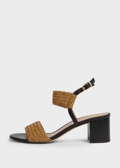 HOBBS LOIS SANDAL TAN / summer sandals - flipped
