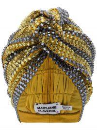 MARYJANE CLAVEROL Dominique sequinned turban