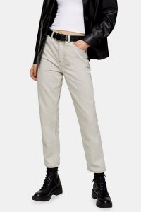 Topshop Mouse Editor Straight Jeans