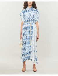 NANUSHKA Hanna tie-dyed cotton midi dress