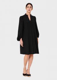 Hobbs NATASHA DRESS Black ~ effortless style clothing