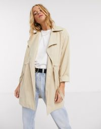 Pimkie light weight jacket in beige – neutral lightweight jackets