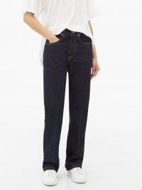 RAEY Push straight-leg jeans indigo blue
