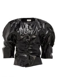 LEMAIRE PVC-coated linen jacket