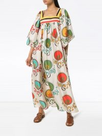 RIANNA + NINA Mirilia print flared dress ~ voluminous summer dresses
