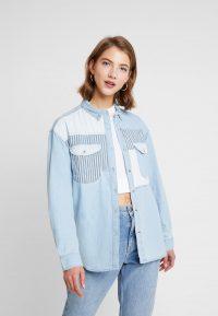 Rolla's PATCH – Button-down blouse bleach blue