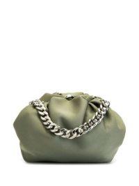 0711 Shu small green tote bag