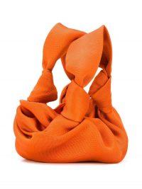 THE ROW Ascot orange tote bag