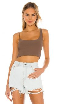 ALIX NYC Gracie Crop Top Cedar