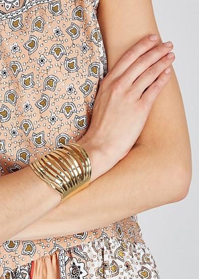 ARIANA BOUSSARD-REIFEL Koba brass bracelet / statement cuffs